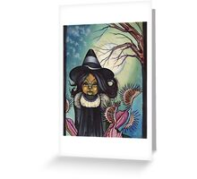 Witchy poo. Greeting Card