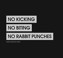 No Kicking, No Biting, No Rabbit Punches by Redel Bautista