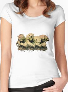 Ursus-Maritimus The Dying King of the North Women's Fitted Scoop T-Shirt
