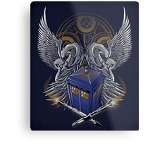 Timelord and Proud - Print Metal Print