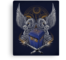 Timelord and Proud - Print Canvas Print