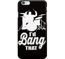 I'd band that!  iPhone Case/Skin