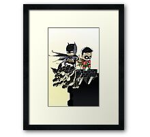 Dynamic Duo baby Framed Print