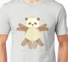 Vitruvian Panda Unisex T-Shirt