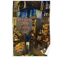 Fira Wine Shop Poster