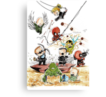 Marvel babies 01 (part 1 of 5) Canvas Print
