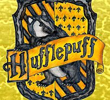 Hufflepuff House Crest by ChrisNeal