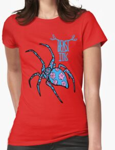 BEAST INK SPYDR Womens Fitted T-Shirt