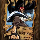 Shanks Wanted Poster by jpmdesign