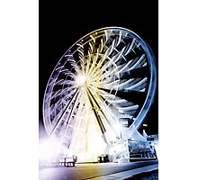 Giant Sky Wheel Photographic Print