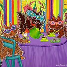 Tea At Edna's by Lisa Frances Judd~QuirkyHappyArt