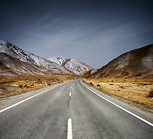 Destination - Lindis Pass by Maxwell Campbell