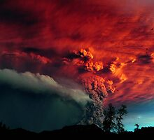 Puyehue (Chile) Volcanic Eruption by haast