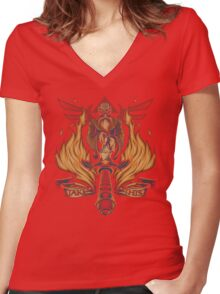 Take This Women's Fitted V-Neck T-Shirt
