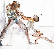 Royal Ballet - ballet dancers by Tatyana  Ilieva