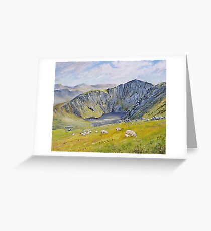 Springtime on Cader Idris. Greeting Card