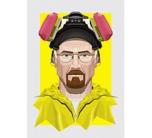Walter White in Lab Gear Photographic Print