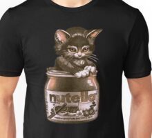 Cute Kitty In Nutella Chocolate Swag Unisex T-Shirt