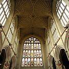 Bath Abbey by Sue Ballyn