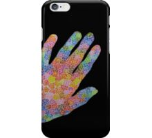 handful of roses (black background) iPhone Case/Skin