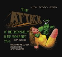 Loading Screen: Attack of the Green Smelly Aliens from Planet 27b/6. by HungryHorace