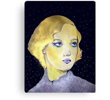 The Golden-Haired Dreamer ( Restored )  Canvas Print