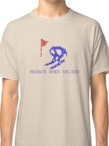 Vintage Look Retro Arcade Horace Goes Skiing Classic T-Shirt