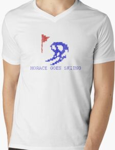 Vintage Look Retro Arcade Horace Goes Skiing T-Shirt
