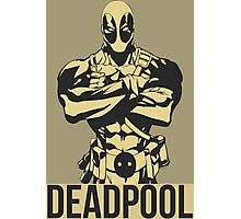 Deadpool Vector Photographic Print