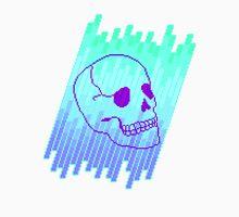 Skull Fade (Blue) Unisex T-Shirt