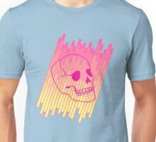 Skull Fade (Pink) Unisex T-Shirt