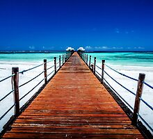 Dongwe Jetty :: Zanzibar by Clinton Hadenham