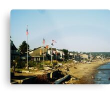 Patriot Beach Metal Print