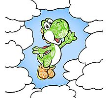 Yoshi in the sky ! Photographic Print