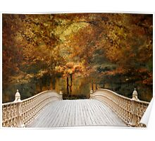 Pine Bank Autumn Poster