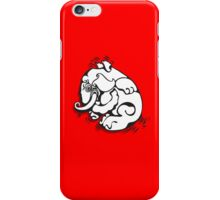 White Elephant iPhone Case/Skin