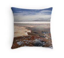 Salar de Uyuni, Bolivia Throw Pillow