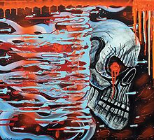 13TH Skull by Laura Barbosa