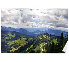 The Gorgeous Austrian Alps Poster