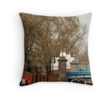 Maide Vale, London Throw Pillow