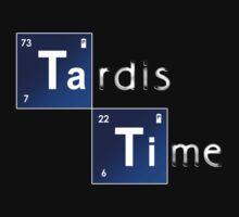 Tardis Time - Whovian Tee by BlueShift
