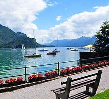 Lake Wolfgang, Austria by Jennifer Lyn King