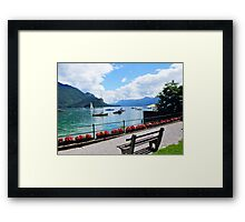 Lake Wolfgang, Austria Framed Print