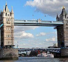London Tower Bridge by Jennifer Lyn King