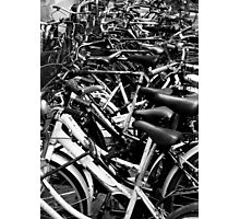Bicycles, Florence, Italy Photographic Print