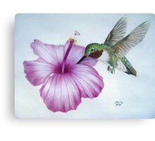 Morning Nectar Canvas Print