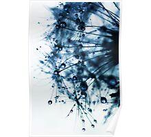ink blue Poster