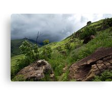 Drakensberg mountains, South Africa Canvas Print