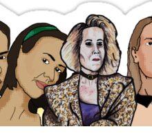 Sarah Paulson: AHS Fan art Sticker