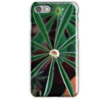 lupine waterdrop iPhone Case/Skin